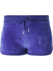 Philipp Plein 'Surgery' Jogging Shorts Blue