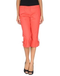 Hope Collection 3 4 Length Shorts Coral