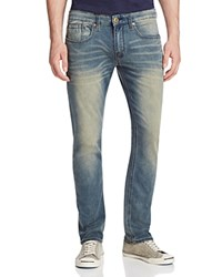 Buffalo David Bitton Ash X Basic Skinny Jeans In Light Vintage Compare At 109