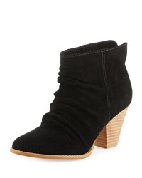 Splendid Rodeo Nut Suede Bootie Black