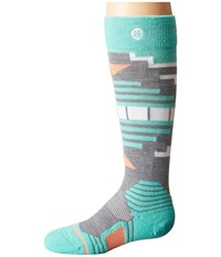 Stance Fox Creek Little Kid Big Kid Grey Women's Crew Cut Socks Shoes Gray