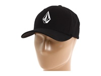 Volcom Full Stone X Fit Flexfit Black Baseball Caps