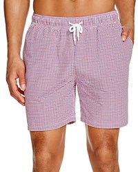Brooks Brothers Seersucker Gingham Swim Trunks