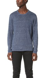 Club Monaco Melange Pullover Indigo Heather