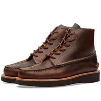 Yuketen Handsewn Maine Guide 6 Eye Boot Brown