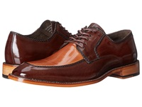 Stacy Adams Bramwell Brown Tan Men's Lace Up Moc Toe Shoes