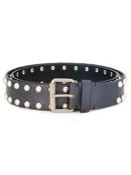 Marc Jacobs Studded Belt Blue