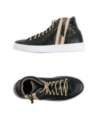 High Tops And Trainers Dark Green