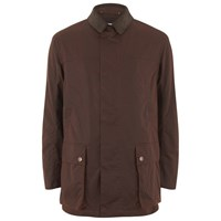 Private White V.C. Private White Vc Men's Wax Cotton Shooting Jacket Rust Burgundy