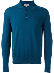 Canali Polo Jumper Blue