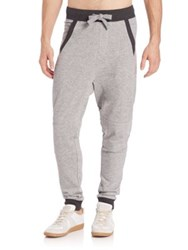 2Xist Drop Inseam Jogger Pants Light Grey