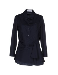 Viktor And Rolf Shirts Shirts Women Dark Blue