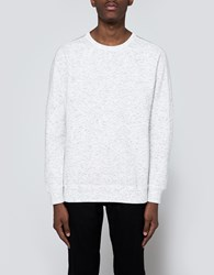Adidas X Wings Horns Bonded Crewneck In Off White