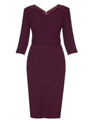 Goat Bentley Wool Crepe Dress