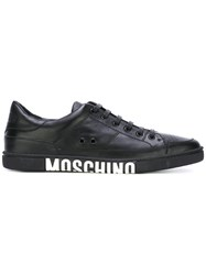 Moschino Logo Tennis Sneakers Black