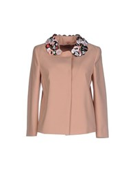 Red Valentino Redvalentino Suits And Jackets Blazers Women Skin Colour