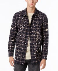 Jaywalker Men's Bleach Flannel Shirt Bleach Spl