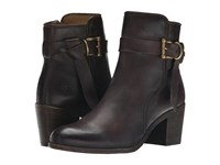 Frye Malorie Knotted Short Dark Brown Polished Stonewash Cowboy Boots