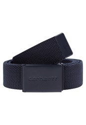 Carhartt Wip Belt Navy Dark Blue