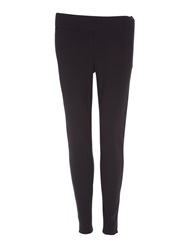 Lands' End Women's Ponte Jersey Leggings Black