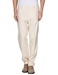 Gant Trousers Casual Trousers Men Ivory