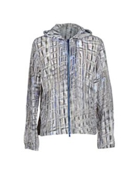 Dirk Bikkembergs Jackets Light Grey