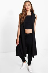 Amber Sleeveless Duster