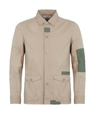 Realm And Empire Desert Patch Explorer Overshirt Stone