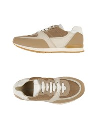 National Standard Footwear Low Tops And Trainers Women Beige