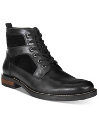 Alfani Men's Lloyd Plain Toe Utility Boots Only At Macy's Men's Shoes Black