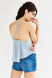 Bdg Railroad Striped Tank Top Vintage Denim Light