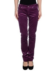 Pt0w Casual Pants Mauve