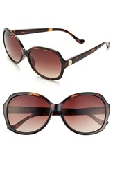 Women's Ivanka Trump 59Mm Sunglasses Tortoise