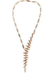 Antonio Bernardo 'Wing' Necklace Metallic