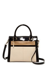 Karen Millen Colorblock Collection Satchel Multi