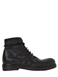 Marsell 20Mm Lace Up Leather Ankle Boots