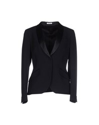 Manuel Ritz Suits And Jackets Blazers Women Dark Blue