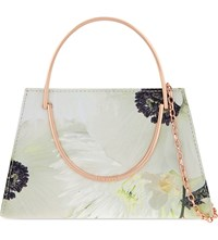 Ted Baker Pearly Petals Clutch Ash