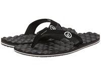 Volcom Recliner Black White Men's Sandals