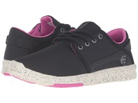 Etnies Scout W Black Black Pink Women's Skate Shoes