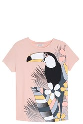 Paul And Joe Toucan T Shirt Pink
