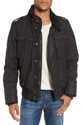 Schott Nyc Men's Waxed Security Jacket