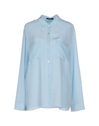 Seventy By Sergio Tegon Shirts Shirts Women Sky Blue