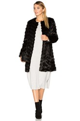Unreal Fur Dream Catcher Faux Coat Black