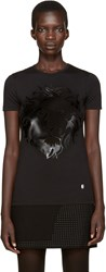 Versus Black Large Lion T Shirt