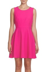 Cece Women's Madison Bow Back Fit And Flare Dress