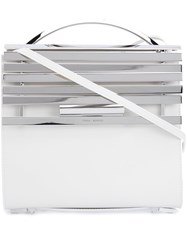 Eddie Borgo 'Colt' Crossbody Bag White
