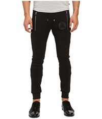Philipp Plein Motor Panel Jogging Trousers Black Men's Casual Pants