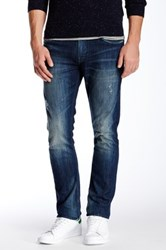 Stitch's Jeans Merridian Distressed Slim Fit Jean Blue