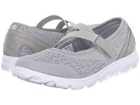 Propet Travelactiv Mary Jane Silver Women's Shoes
